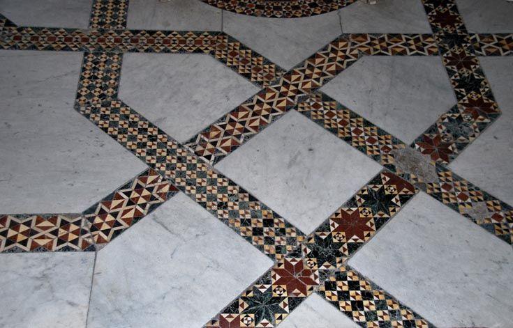 Зал короля Роджера в Норманнском дворце, Палермо, XII в ...