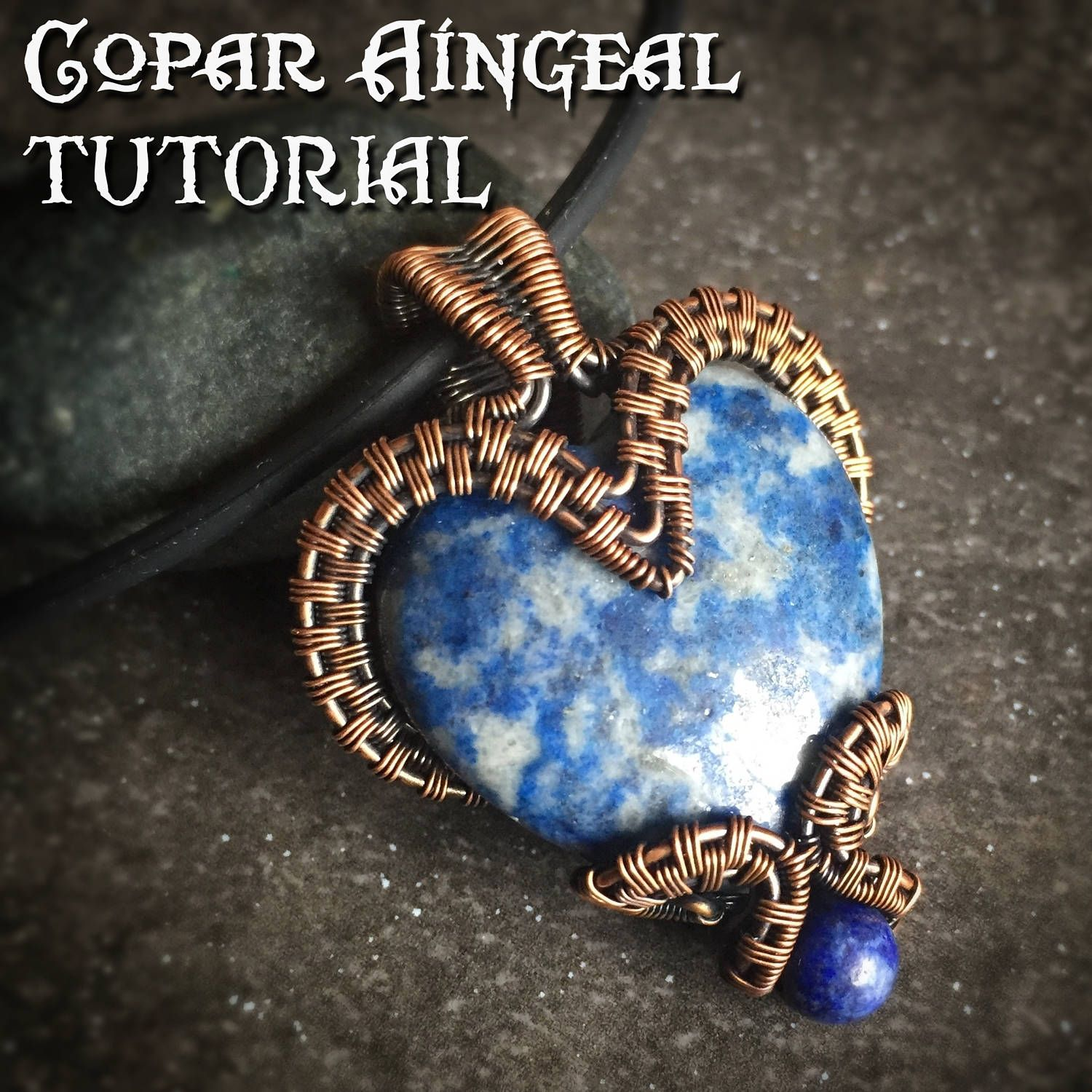 Tutorial bottled heart pendant wire wrapping jewelry pattern tutorial bottled heart pendant wire wrapping jewelry pattern puffy heart cabochon wire baditri Images