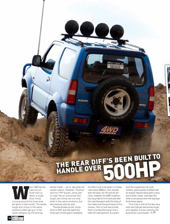 suzuki jimny 39 out of nowhere 39 australian 4wd action. Black Bedroom Furniture Sets. Home Design Ideas