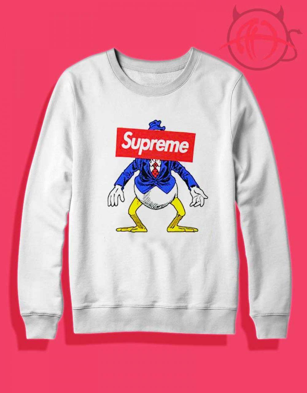 4d4071ab6e5b Rare Vintage Disney Supreme Donald Duck Sweatshirt $ 27.50 #Tee #Hype  #Outfits #Outfit #Hypebeast #fashion #shirt #Tees #Tops #Teen
