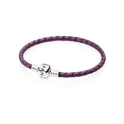 PANDORA | Leather bracelet, single Sweetie!! If you ever look at this board