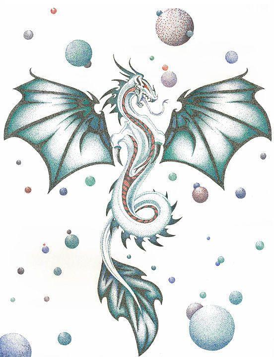 Sea Dragon Drawing : dragon, drawing, Dragon, Drawing, Google, Search, Dragon,
