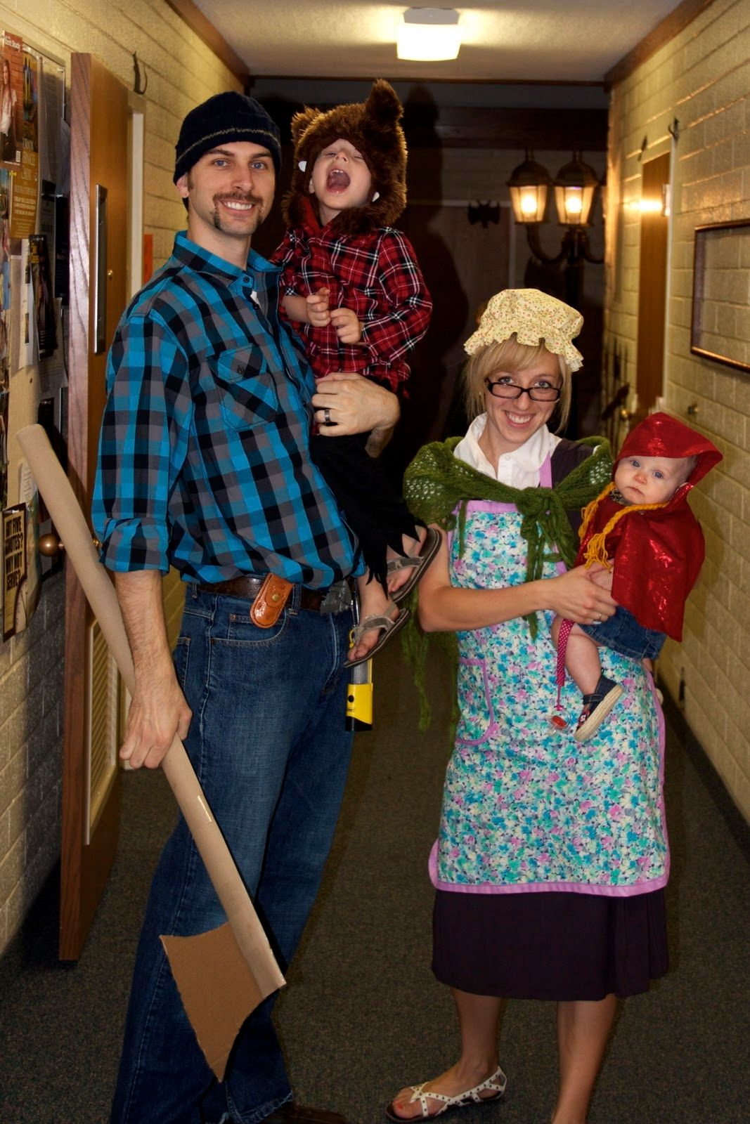 Little Red Riding Hood family costumes | Trick or Treat | Pinterest ...