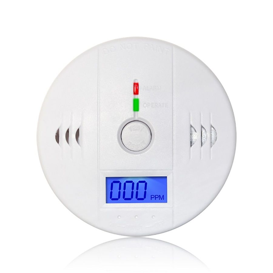 CO Carbon Monoxide Detector Poisoning Smoke Gas Sensor for Home Security Warning
