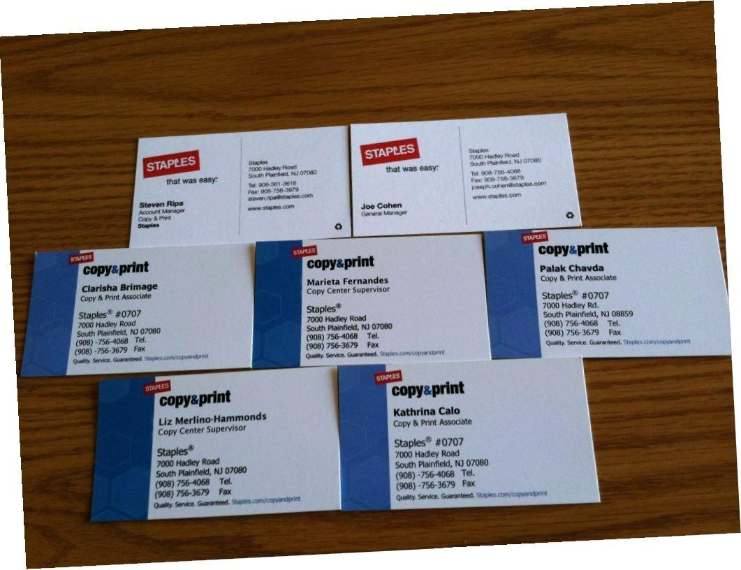 Custom Printable Business Cards Staples Design Business Cards By
