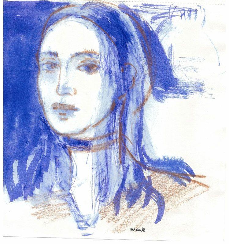 Nesrin Sağlam'ın sergisi Harmony Sanat Galerisi'nde