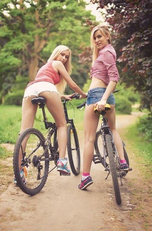 Sexy Teen On Bike Pics