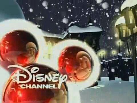 christmas disney logo - Disney Channel Christmas