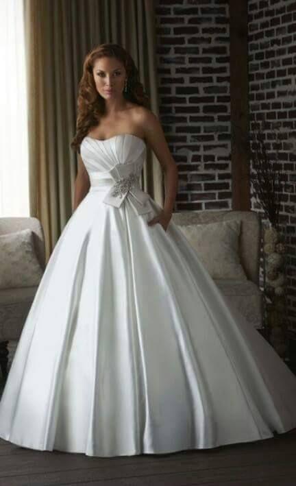 Que vestido lindo *u*