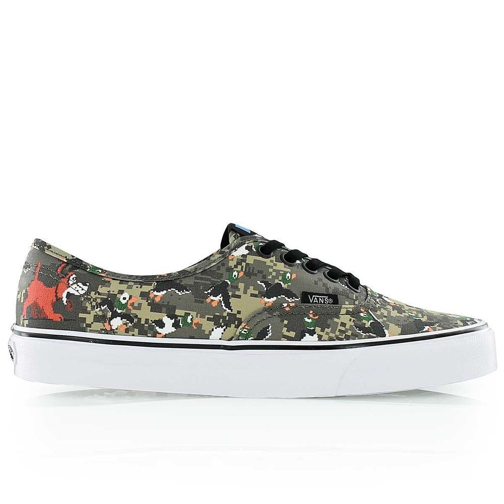 993f29e6b2 BRAND NEW VANS AUTHENTIC CLASSIC NINTENDO DUCK HUNT CAMO Mens Size 12 Rare  NWT