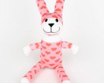 Free shipping handmade sock rabbit bunny stuffed animal doll baby free shipping handmade sock rabbit bunny stuffed animal doll baby toys easter gift negle Gallery