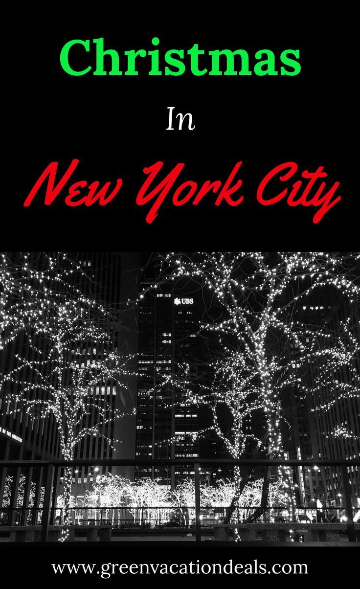 Christmas in New York City is the most magical time of the year. The best holiday activities in NYC and where to stay for your New York City Christmas. Things To Do In New York City   New York City Travel   Things To Do In New York At Christmas in 2017   how to save money in New York at Christmas   #nycchristmas #nyc #newyork #newyorkchristmas #christmasinnewyork