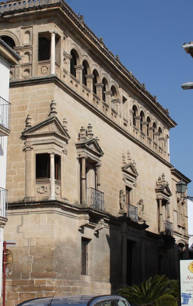 Palacio Vela De Los Cobos Jaen España Lugares De España Arte España