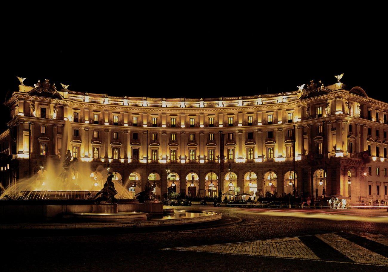 Boscolo Exedra Roma Luxury 5 Star Hotel In Rome Italy