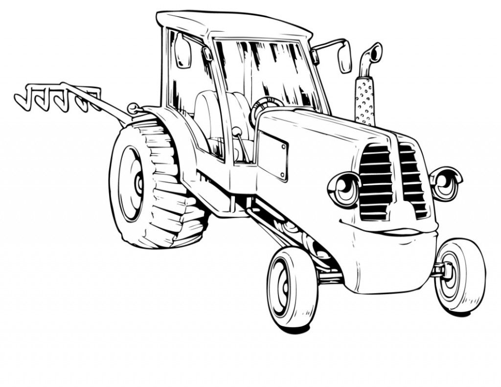 free printable tractor coloring pages for kids doodle coloring 1951 Ford Tractor tractor coloring pages online