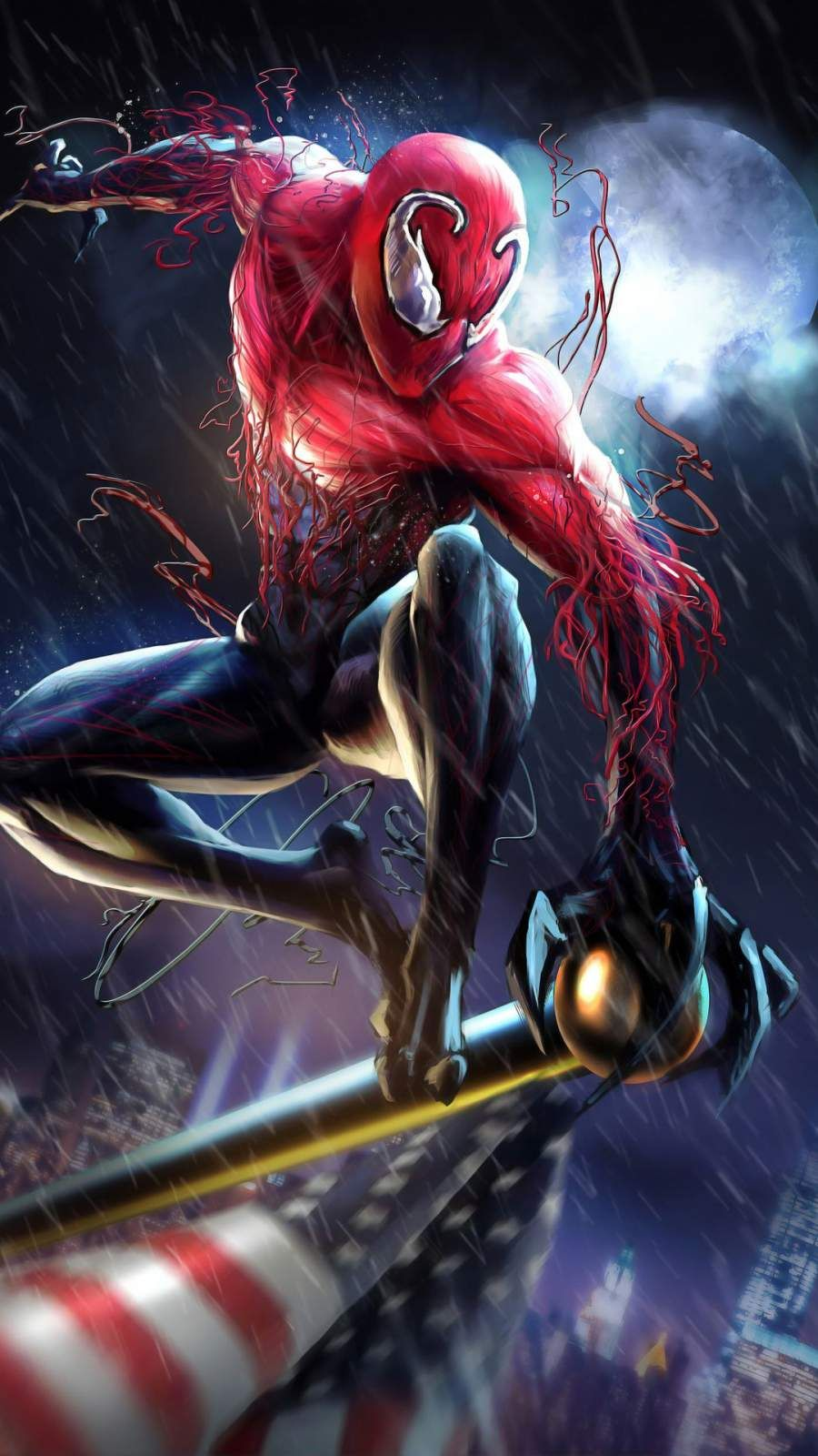 Venom Spiderman IPhone Wallpaper in 2020