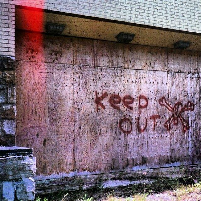Abandoned Children's Asylum. Doria, Quebec, 2011 #film