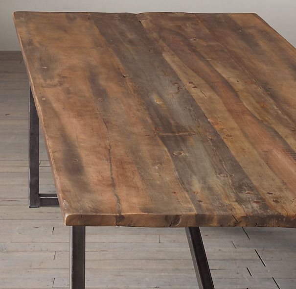 Salvaged Boatwood Dining Tables This Is The Table I Want For The Home Buy Me