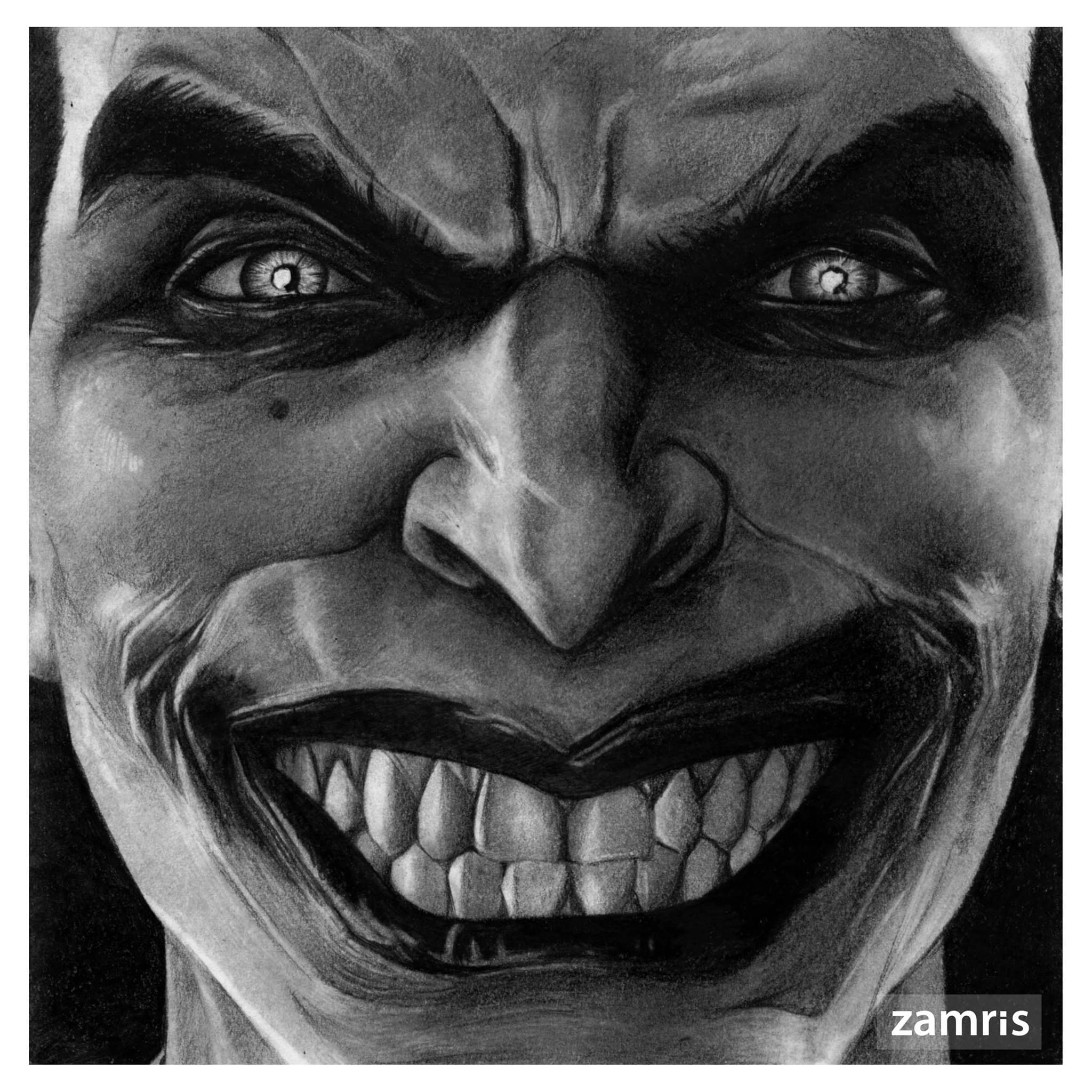 Arkham Joker Drawings In Pencil a pencil drawing of th...