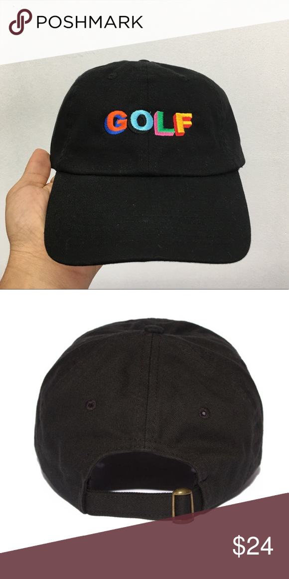 Tyler the creator GOLF dad hat Brand new item . Embroidered  sixpanelstudio.com Accessories Hats 28218b88e92