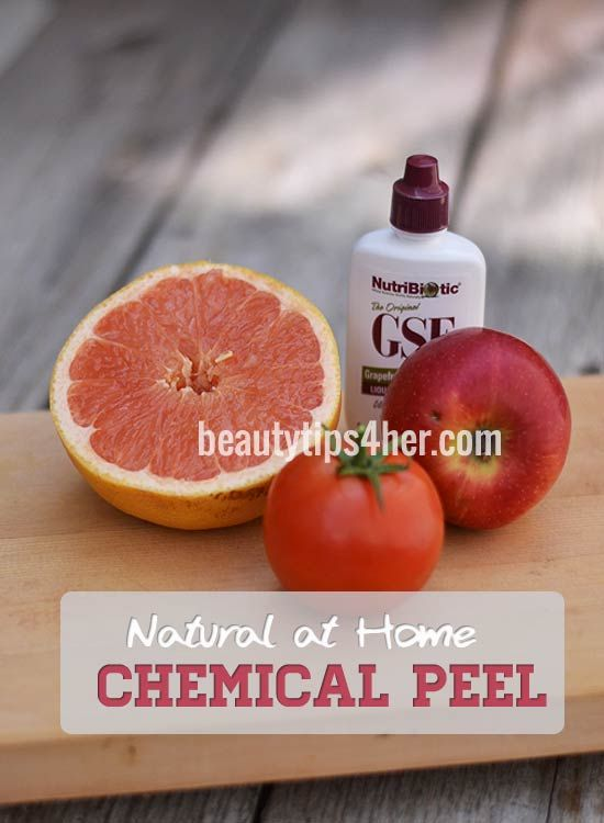 Natural At Home Chemical Peel Look Younger Facial Liquid Diy