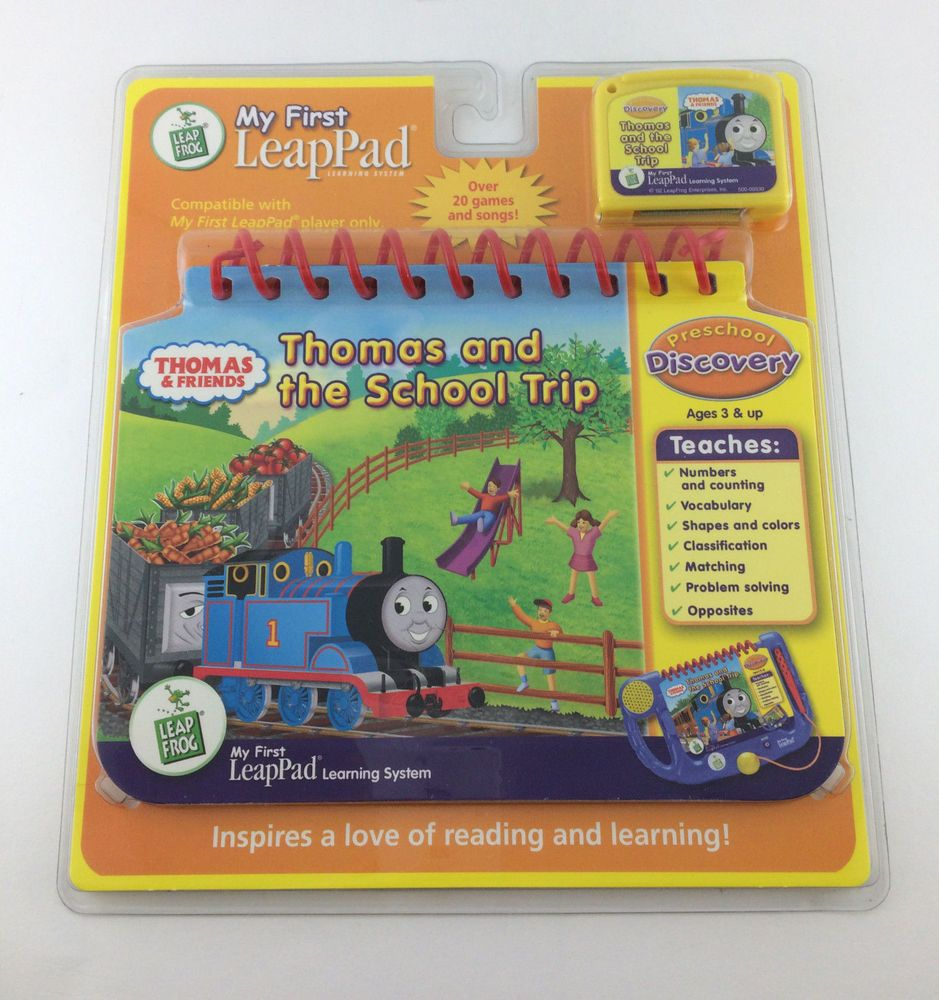 My First Leap Pad Book Cartridge Thomas and the School