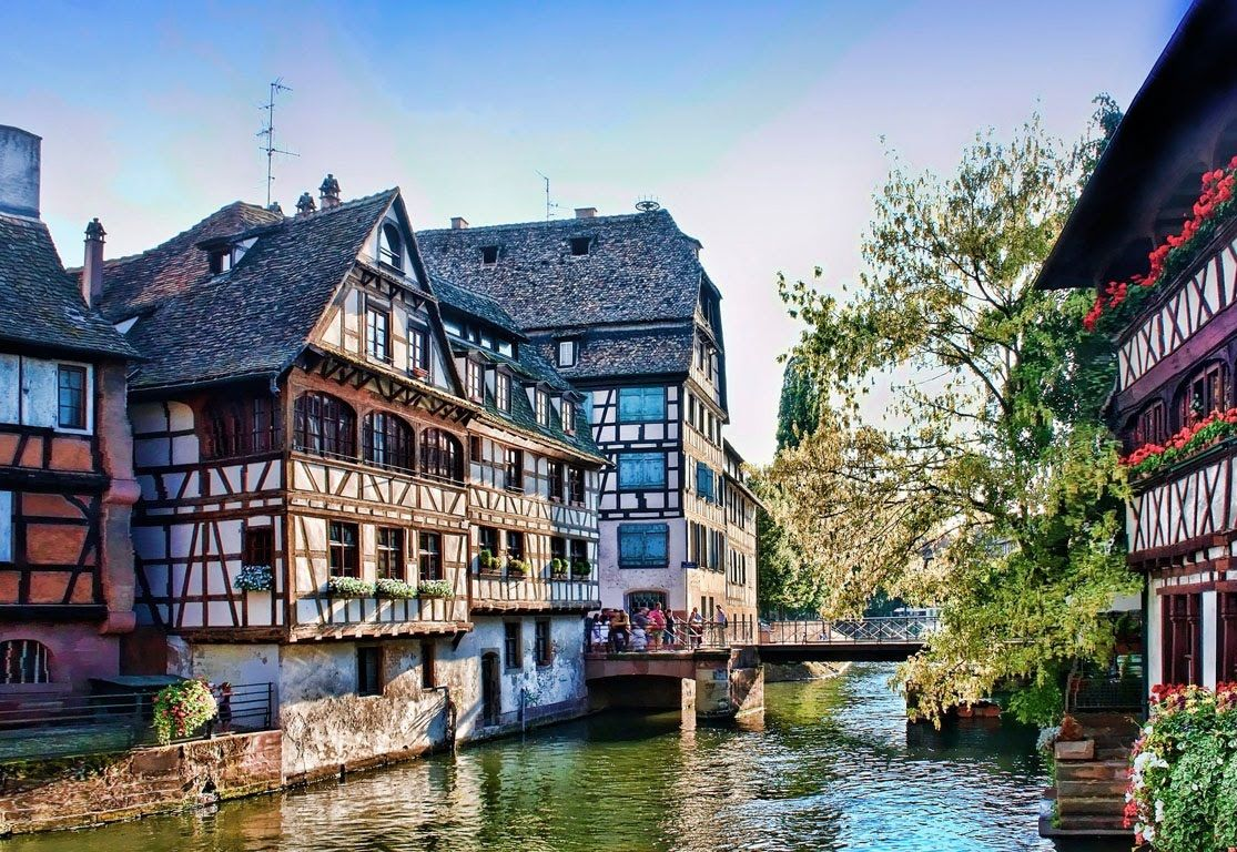 Colmar France Inspiration For Beauty And The Beast Strasbourg France Vacation France Places To Visit