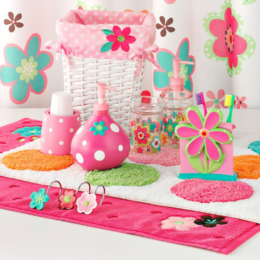 Kohl's - Jumping Beans Petal Perfect Bath Accessories