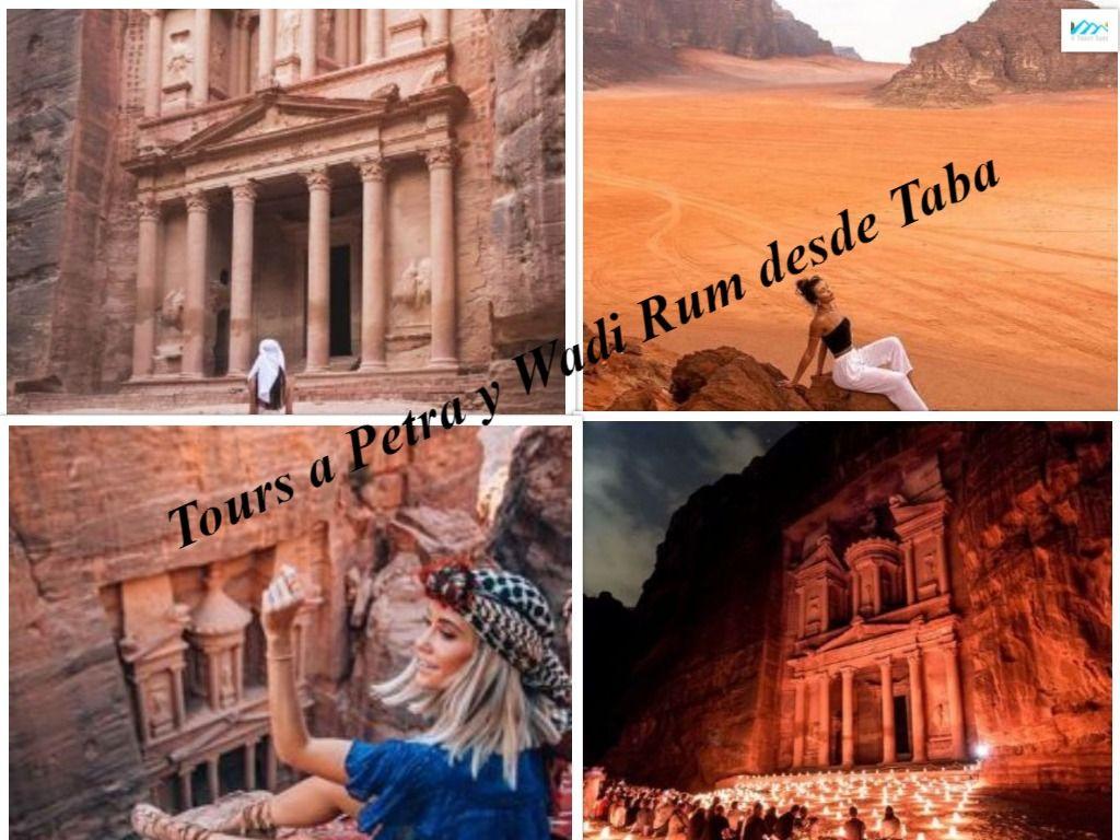 Tours a Petra y Wadi Rum desde Taba #wadirum