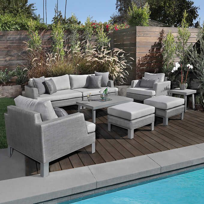 Swell Portofino Sling 8 Piece Seating Set Dream Home In 2019 Interior Design Ideas Gentotryabchikinfo