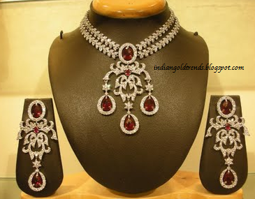 Latest Indian Gold and Diamond Jewellery Designs Beautiful Bridal