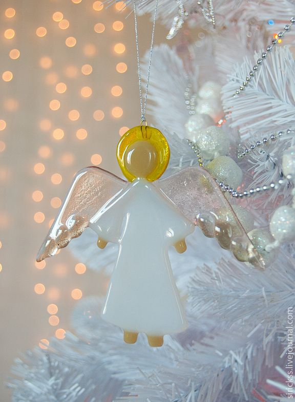 Glass Angels - Glass Angels Christmas Ornaments / DIY/ Amigurumi Pinterest