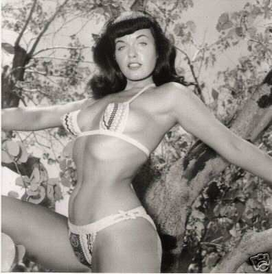 bettie page art
