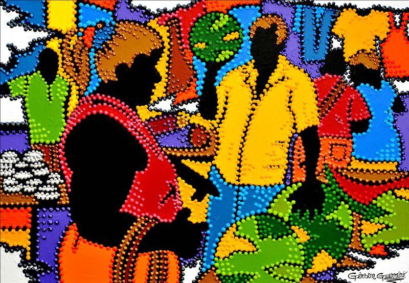Resultado de imagem para OBRAS  ARTISTA PLASTICO GERSON GUERREIRO