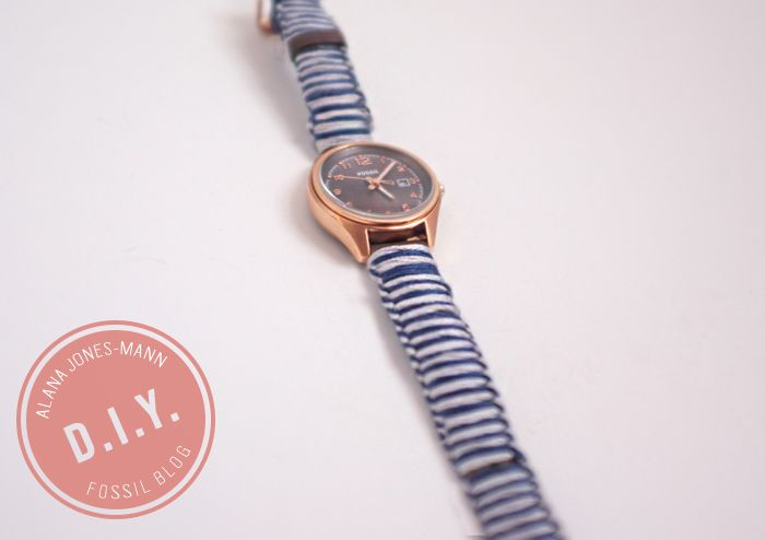 D I Y Project Knotted Watch Band Fossil Blog Watch Bands
