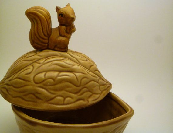 Vintage Squirrel Nut Bowl by LifeOnArborLane on Etsy, $13.00