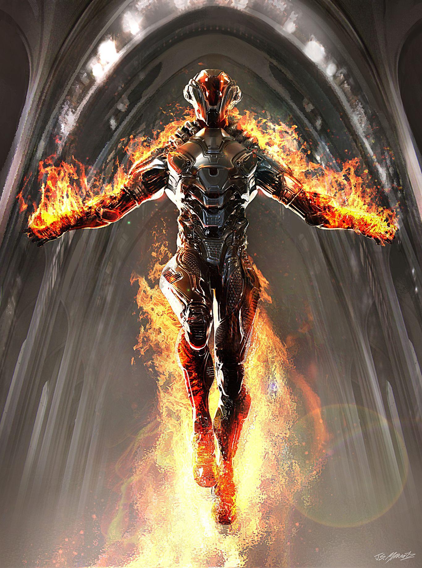 Ghost Rider Spirit Of Vengeance Concept By Jeradsmarantz Horror 2d Cgsociety Ghost Rider Wallpaper Pyro Chibi Marvel