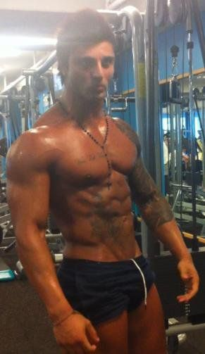 Zyzz Gym Muscle Transformation Fitness Motivation At Home Workout Plan