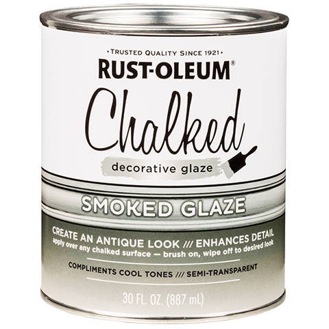 Rust Oleum Chalked Decorative Glaze Allows You To Add A Custom Antiqued Finish To Any Chalked Painted Surface Antiquing Glaze Rustoleum Chalk Paint Rustoleum