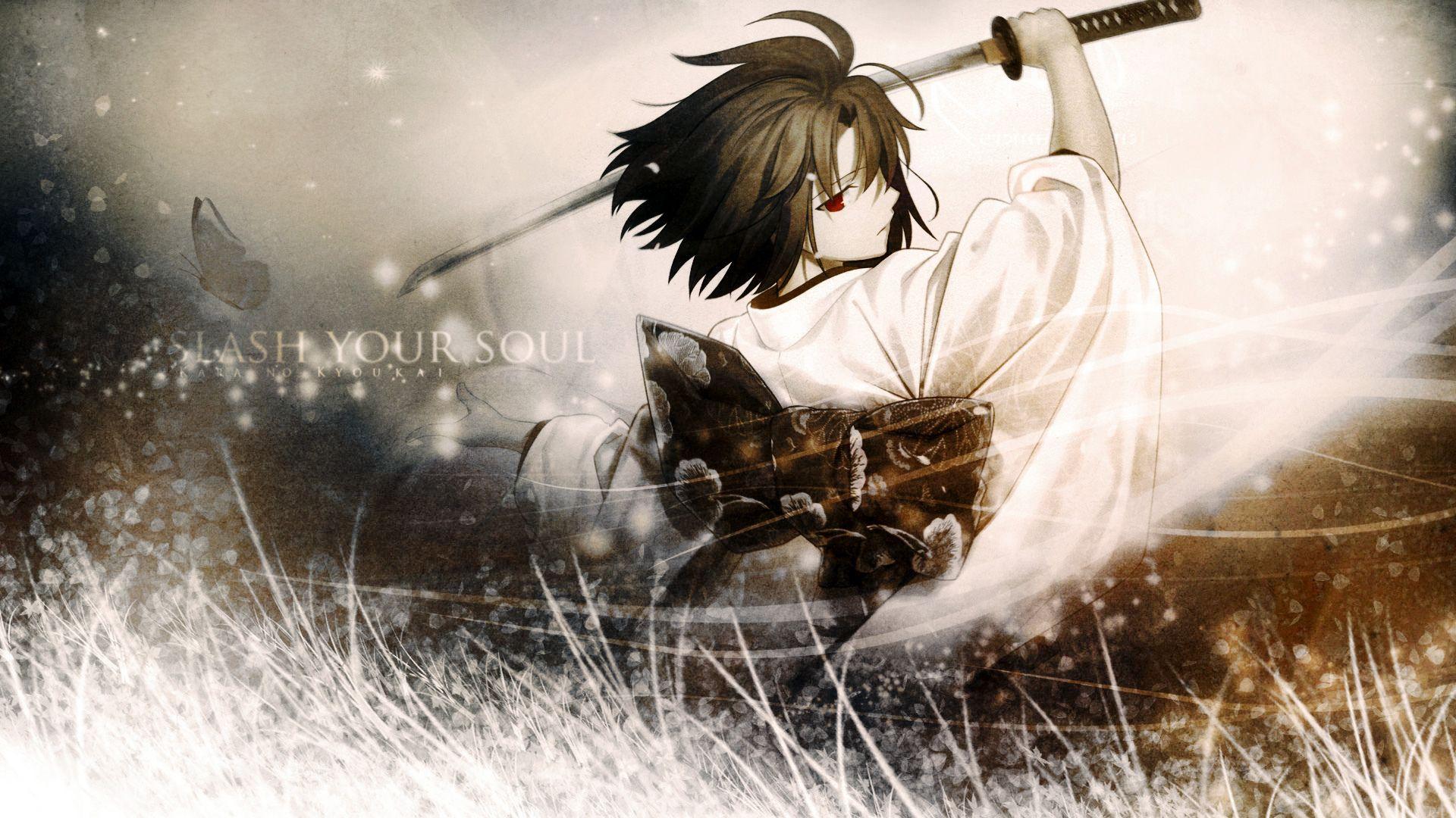 Anime Wallpapers Wallpaper Samurai Sword Gdefon Original Samuraj Anime Samurai Anime Anime Images