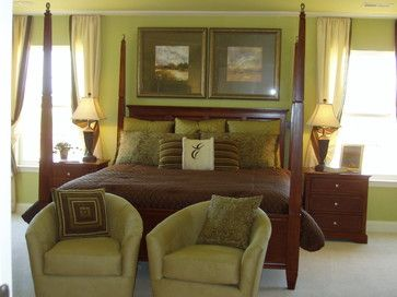Green And Brown Decorating Ideas | Brown And Green Bedroom Design Ideas,  Pictures, Remodel