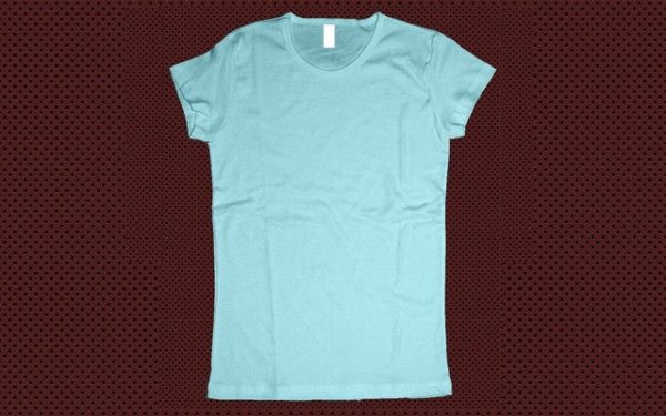 Women TShirt Template Photoshop  Freebies    Template