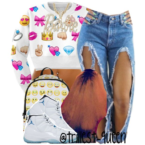 . by trillest-queen on Polyvore featuring Nicki Minaj