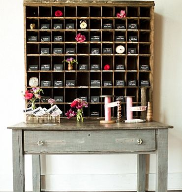 Vintage mail sorter for reception - Stockroom Vintage (Nashville ...