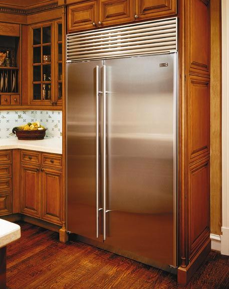 From Google A Lovely Sub Zero Stainless Steel Fridge
