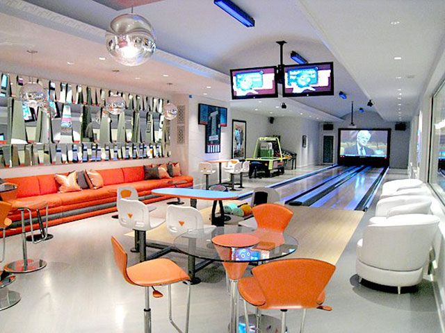Home Bowing Alley Residential Bowling Alleys By Others Fusion