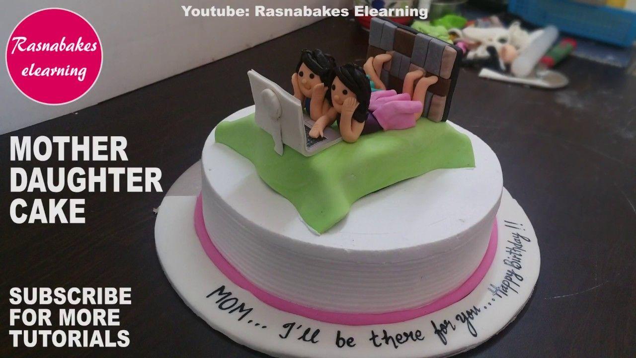 happy birthday cake mom mummy mother daughter gifts design