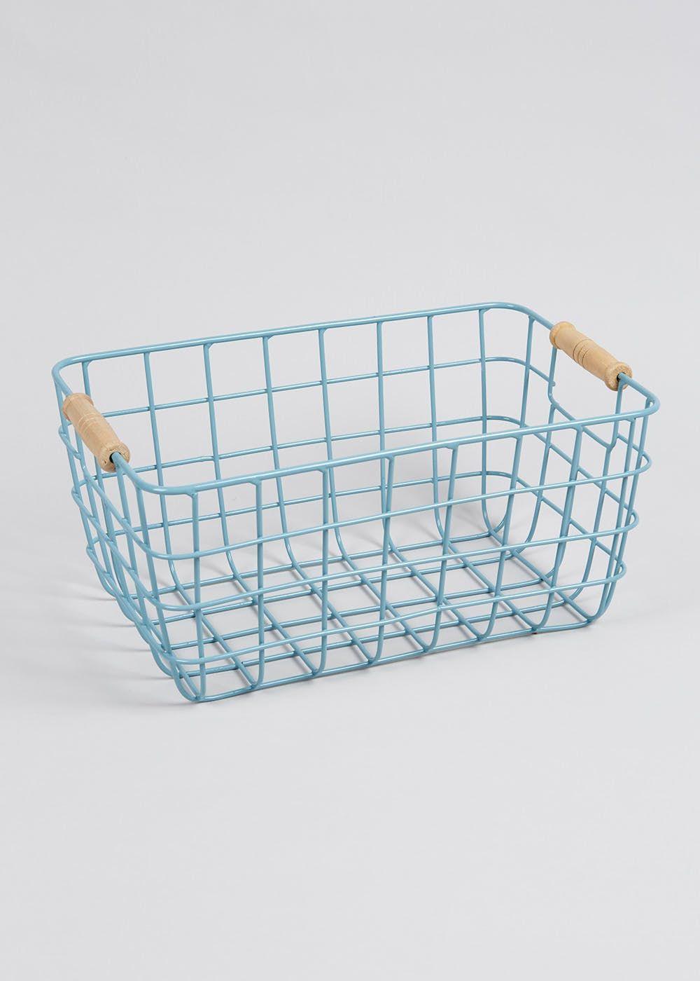 Metal Basket (30cm x 20cm) | Online house idease | Pinterest | Metal ...