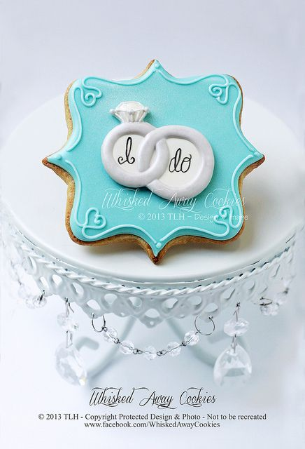 """I do""! www.facebook.com/WhiskedAwayCookies"
