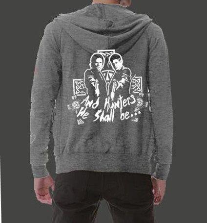ed45e2cd2083f Supernatural zip up hoody plus size sweatshirt for men ...